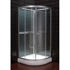 Populära Duschkabin Clamar Glass 80 ID-79